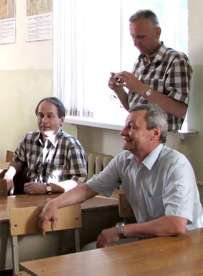 Справа налево Андрей Петров, Владимир Мартынов и Евгений Березюк, Ростов-на-Дону, фото Веры Волошиновой