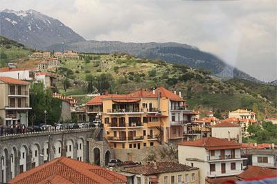 Типичный греческий городок