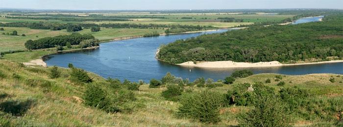 Остров Поречный, где существовал Раздорский городок – первая казачья столица Дона