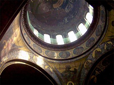 Центральный купол, Вознесенский Войсковой собор в Новочеркасске, архитектор А. Ященко, фото Веры Волошиновой