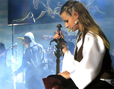 Рок-опера 'Дорога без возврата' в постановке ростовской симфо-рок группы Esse, фото Веры Волошиновой