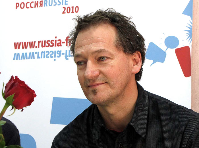 Режиссер французского театра предметов 'Тюрак' Мишель Лобю, фото Веры Волошиновой